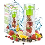 Fruit Infuser Water Bottle BPA Free 8...