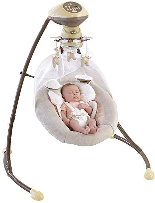 Fisher Price My Little Snugapuppy Cradle and Swing Review