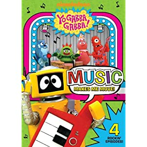 Yo Gabba Gabba! - Music Makes Me Move movie
