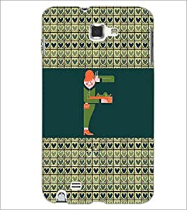 PrintDhaba GRANDbet F D-2594 Back Case Cover for SAMSUNG GALAXY NOTE 1 (Multi-Coloured)