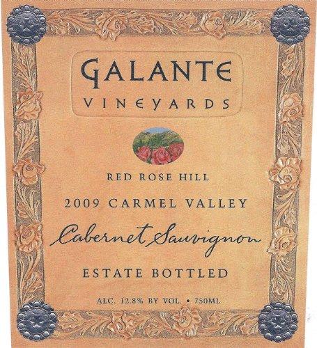 2009 Galante Vineyards Red Rose Hill Cabernet Sauvignon 750 Ml