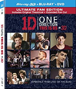 One Direction: This is Us ( 3D Two Disc Combo: Blu-ray / DVD + UltraViolet Digital Copy) by Sony Pictures Home Entertainment