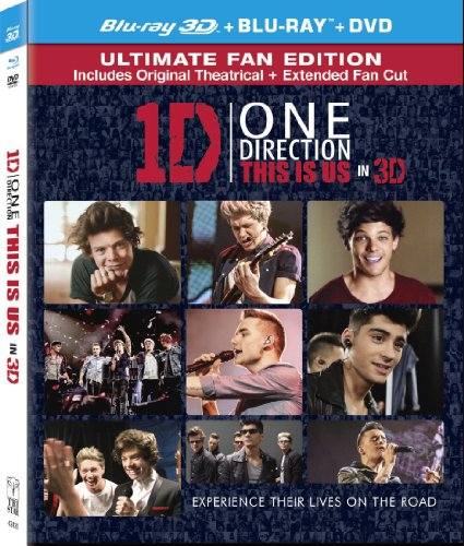 One Direction: This is Us ( 3D Two Disc Combo: Blu-ray / DVD + UltraViolet Digital Copy) (One Direction 3d Book compare prices)