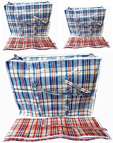 plastiktasche-auswahl-jumbo-transporttasche-aufbewahrungs-tasche-kariert-xxl-xl-l-gross-rot-80x60x30