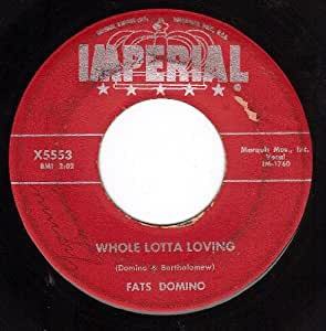 Fats Domino Whole Lotta Loving Coquette 45 7 Quot Amazon