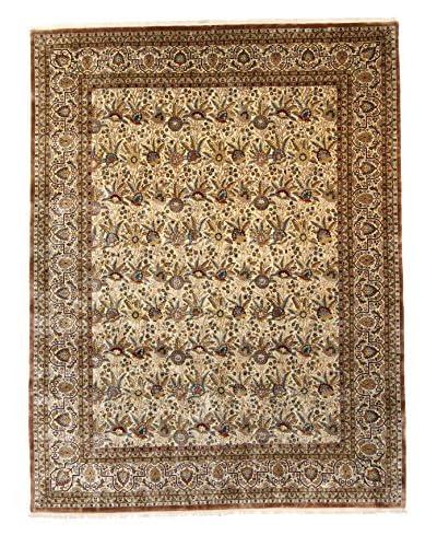 F.J. Kashanian Robert Hand-Knotted Rug, Ivory/Ivory, 9′ x 11′ 9″
