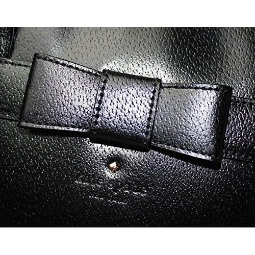 [ケイトスペード] kate spade アウトレット ケイトスペード バッグ BAG  ショルダー 斜め掛け レザー リボン ロゴ 金具 ファスナー式 ブラック black(001) WKRU2792[並行輸入品]