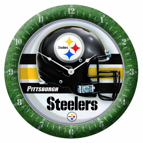 NFL Pittsburgh Steelers Game Time Clock