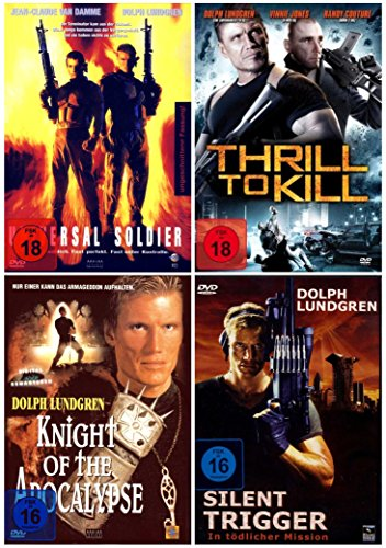Dolph Lundgren Action Fan Paket ( 4 Actionfilme auf 4 DVDs )