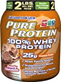 Pure Protein 100 % Whey Protein, Frosty Chocolate, 2 Pounds