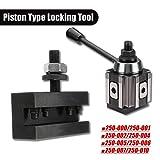 DMC-250-000 Cuniform GIB Type Quick Change Tools Kit Tool Post 250 001-010 Tool Holder Piston Type Locking Tool for Lathe Tools (250 002) (Tamaño: 250 002)
