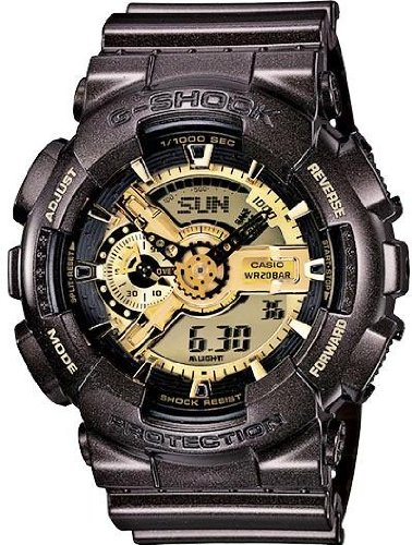G-Shock GA-110BR-5ACR Garish Trending Classic Men's Stylish Watch - Black / One Size