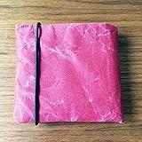 2つ折り財布 SIWA | 紙和 (レッド)