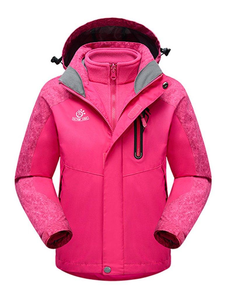 OUO 2015 Kinder Unisex Winter Hebst 3-in-1 Jacke Winterbekleidung Wetterschutzjacke Kälteschutz Reißverschluss Sport Kaputze online bestellen