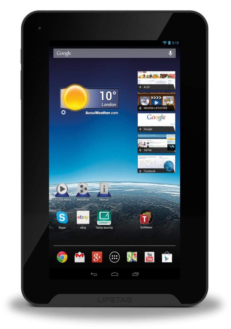 MEDION LIFETAB E7315 17,8 cm TabletPC silber  Kritiken und weitere Informationen