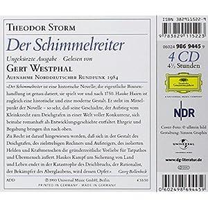 Der Schimmelreiter. 4 CDs