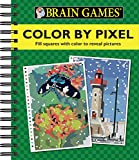 img - for Brain Games: Color by Pixel book / textbook / text book