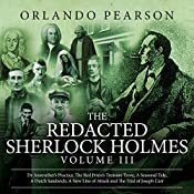The Redacted Sherlock Holmes, Book 3 | Orlando Pearson