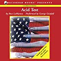 Acid Test Audiobook by Ross LeManna Narrated by George Guidall
