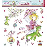 Fensterbilder Prinzessin Lillifee hergestellt von Coppenrath