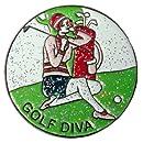 Navika Golf Diva Glitzy Ball Marker with Hat Clip