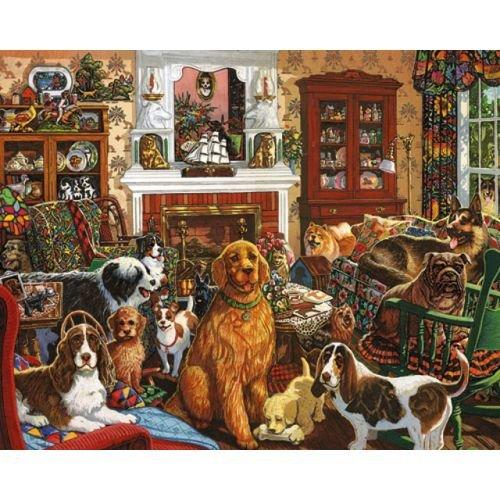 buy classic dog breeds jigsaw puzzle piece