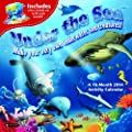 Orange Circle Studio 2014 Activity Wall Calendar, Under the Sea (51126)