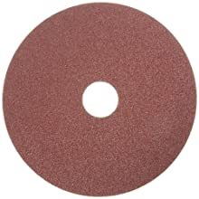 Norton F226 Metalite Fiber Disc, Aluminum Oxide, 5&#034; Length x 7/8&#034; Width, Grit 80 Fine (Pack of 10)