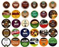 Decaf Coffee Variety Sampler Pack for Keurig K-Cup Brewers, 30 Count by Crazy Cups