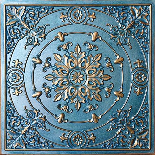pl18-sintetica-lata-3d-artistico-techo-azulejos-cian-dorado-en-relieve-photosgraphie-fondo-decoracio