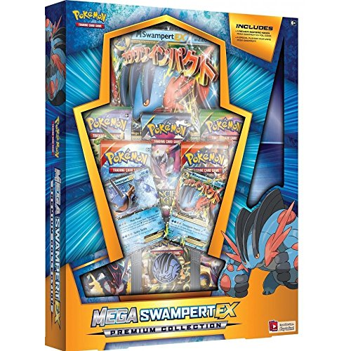 Pokemon TCG Mega Swampert EX Evolution Premium Collection Box Sealed (Trading Card Box Sealed compare prices)