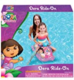 Dora the Explorer Toddler Kids Inflatable Ride-on Float Car - Swim Raft, Pool, Beach