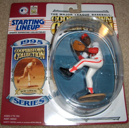 1995 Bob Gibson MLB Cooperstown Collection Starting Lineup Figure