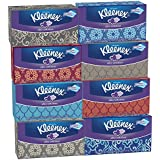 Kleenex Ultra Soft Tissues, White, 120ct, Pack of 8