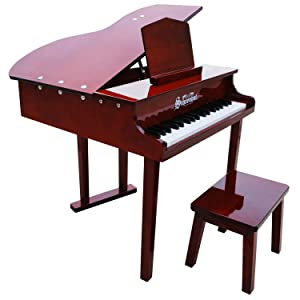Schoenhut 37 Key Concert Baby Grand with Bench