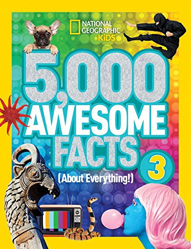 5,000 Awesome Facts 3 (About Everything!) (National Geographic Kids) (Bestseller Books For Kids compare prices)