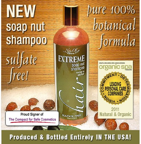 NaturOli Soap Nuts Natural Shampoo - Organic