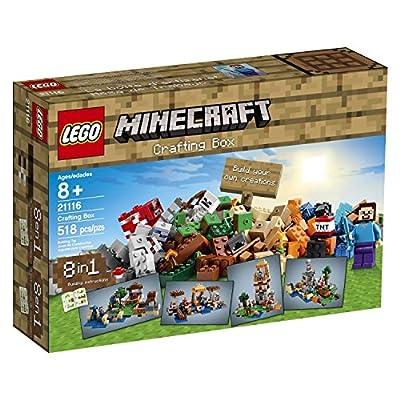 LEGO Minecraft 21116 Crafting Box (DESIGN 1, 2)