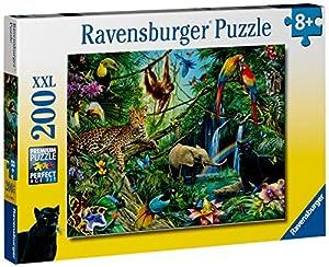 """Ravensburger - Puzzle con diseño de """"la jungla"""", 200 piezas (12660 6)"""