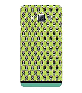 PrintDhaba Pattern D-1632 Back Case Cover for SAMSUNG GALAXY A3 (Multi-Coloured)