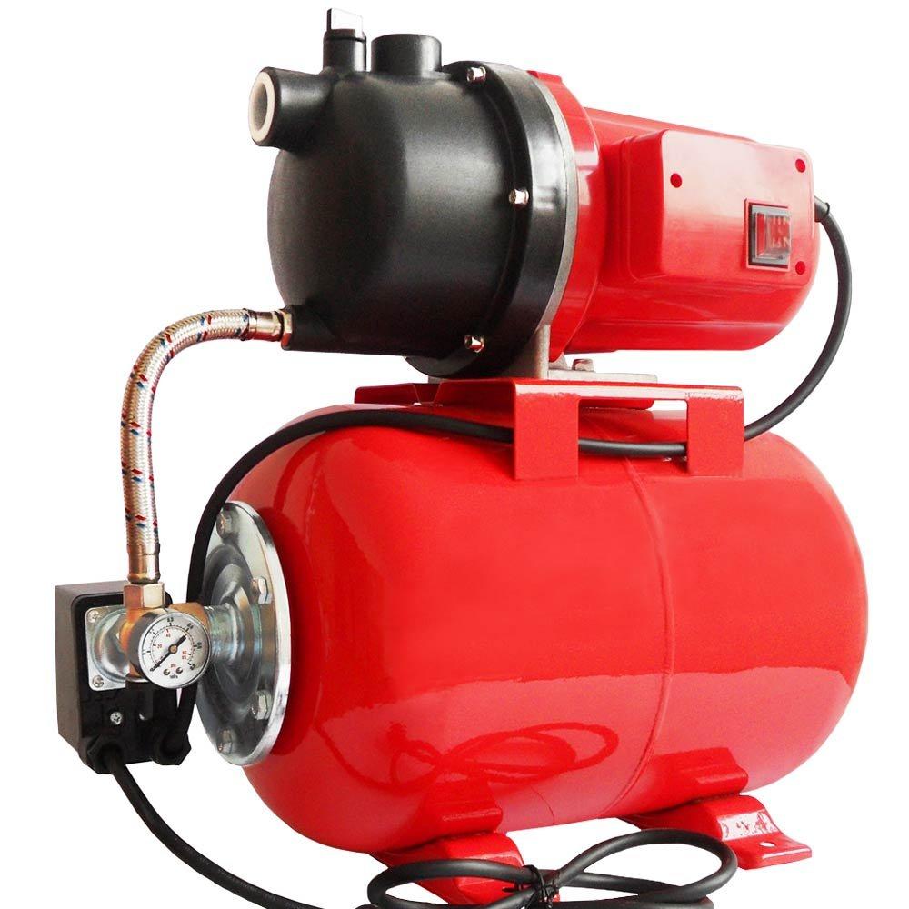 Hauswasserwerk Hauswasserautomat 1500 Watt 4500l/h mit thermischem Überlastungsschutz Intertek GS geprüft  GartenRezension