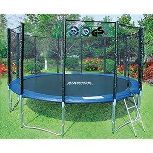 trampoline sixbros sport sixjump professional ts430 trampoline de jardin 4. Black Bedroom Furniture Sets. Home Design Ideas