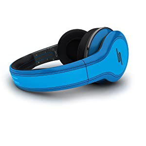 STREET by 50 Cent Wired Over-Ear Headphones - Blue by SMS Audio