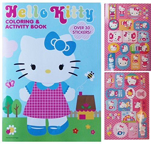 Hello Kitty Coloring and Activity Book with over 30 Stickers