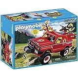 Playmobil - 310012 - 5616 - 4x4 Pompier D'intervention Avec Lance À Eau