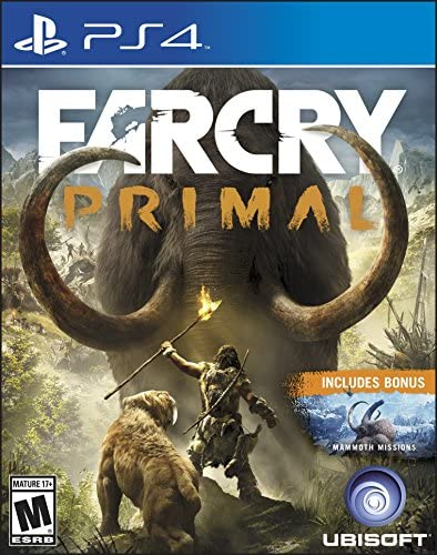 Far Cry Primal Std Edition for PS4