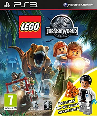 Lego Jurassic World Inc Dr Wu Mini Figure - Amazon Exclusive (PS3)