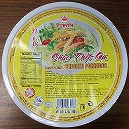 Vifonl Chao Thit Ga Chicken Porridge ( 4.2 Oz X 6 )