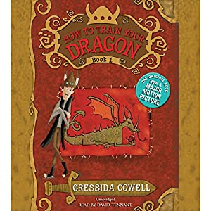 How to Train Your Dragon Audiobook by Cressida Cowell Narrated by David Tennant