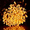 Ucharge String Fairy Lights 100led Solar String Light Outdoor for Home, Garden, Indoor, Outdoor, Holiday, Christmas, Party Decorations